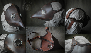 Classic Plague Doctor's Mask by Nymla