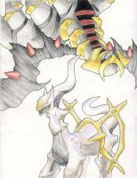 Giratina is Spiderman D8 by kaburaisu