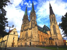 Saint Wenceslas Cathedral by Vybral