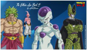 Villains Are Back (dragon Ball) By Aldbaran by AldbaranTaurus