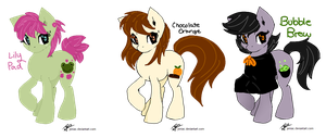 Draw to Adopt Ponies -CLOSED by River-Adopts