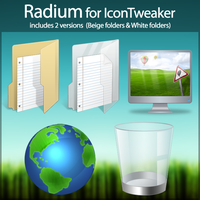 Radium for IconTweaker by anthonium