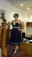 Sailor Dress by DeannaEchanique