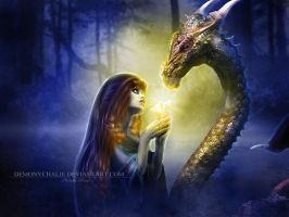 .: Dragon, My Light Lover :. by NatiatVII