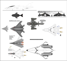 UN military air/space craft by Jon-Michael-May