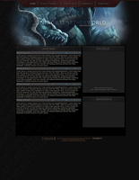 Lineage 2 Netherworld Template by xDamianART