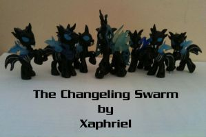 The Changeling Swarm by Xaphriel