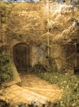 Sepia Old Door by unclefrogface