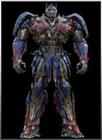 3D Optimus Prime Reference by Crosshairs-RP