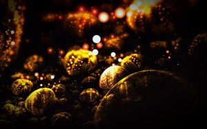 Gold jewels by xurg