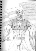captain america by leseraphin