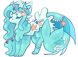 Legendary Ocean princess slimerock pup auction by puqqie