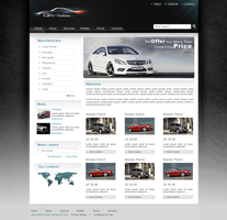 Indiana Cars Website by blacktwo