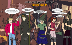 JC: Cast Pary Halloween 2007 by Crusader1089