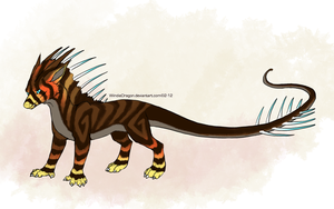 Dragon Character Auction 2 -SOLD- by WindieDragon