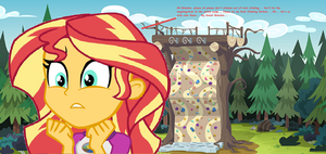 Sunset wants Me to join her at Rock Climbing by EpicCartoonsFan