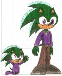 Baby and Kid Vincent by MrSoniccloud