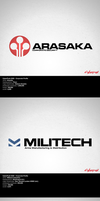 CyberPunk 2020 corporate logos by zoopee