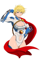 Power Girl by MaHenBu