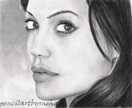 Angelina Jolie by artmapassion