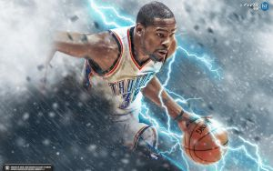 Kevin Durant 'THOR' wallpaper by Kevin-tmac