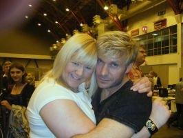 Me and Vic Mignogna by bleugirl