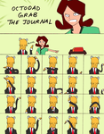 Octodad, grab the journal by Shoprocks
