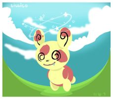 Spinda by Child-Of-Neglect
