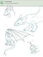 Q. Draw more dragons? by CrystalCircle