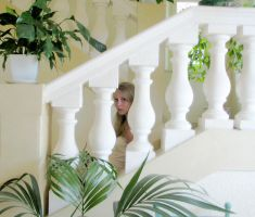 Alone on the stairs by xoxdaisychainxox