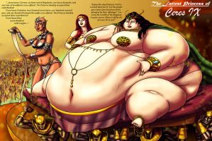 The Fattest Princess of Ceres IX by Ray-Norr