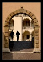 The Side Gate By The Big Courtyard Of Wawel by skarzynscy
