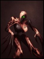 Fem-Flayed One by IronShrineMaiden