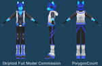 Skiploid Full Model by PolygonCount