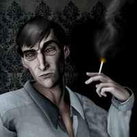 Sherlock Holmes: Dissipation by Gonzo-Guilt