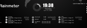 Circle for Rainmeter by aidaaah