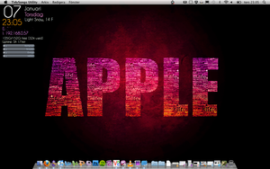 My mac desktop by Frozzare