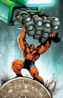 LA MOLE -the thing- COLOR by Sandoval-Art