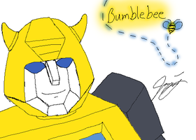 Photoshop Practice - Bumblebee by TaintedTamer