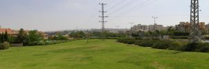 Panorama: Green Beer-Sheva by GorALexeY