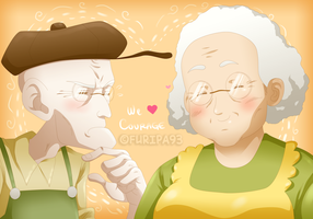 Eustace And Muriel by Furipa93