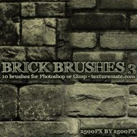 Brick Brushes 3 by AscendedArts