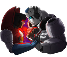 Redraw Meme: Skyfire/Starscream by VolverseLoco
