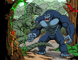 Kong animated series by kaijuverse