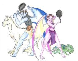 Tangled - Gargoyles -Spoilers by Nebulan