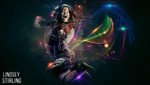 Lindsey Stirling Lights by InsaneSVK