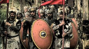 Roman Army 'march' by Zagreb-Dubrava