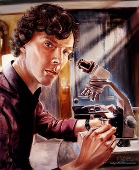 The Scientist by andycwhite