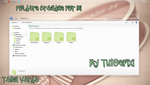 Tema IconPackager Verde Cute by TutosPixi