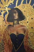 Klimt Gold by johnstevensartist